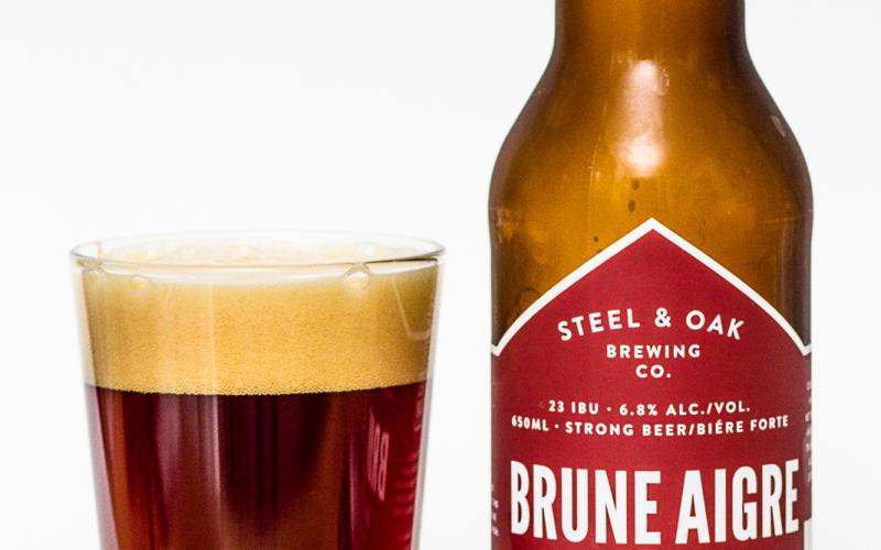 Steel & Oak Brewing Co. – Brune Aigre Belgian Brune