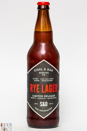 Steel & Oak Rye Lager Review