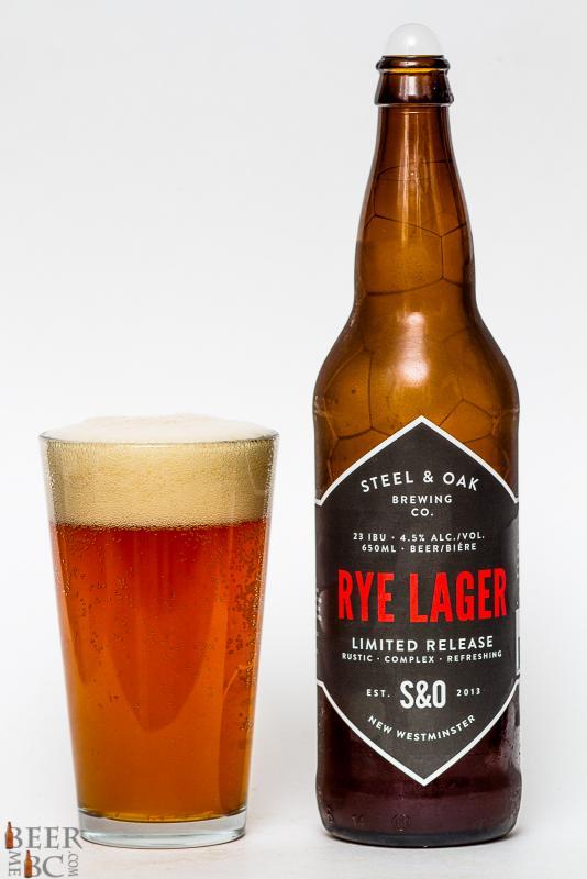 Steel & Oak Rye Lager Review