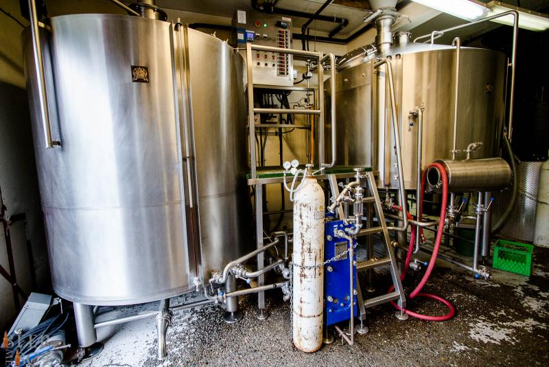 Howe Sound Brewery Brewhouse
