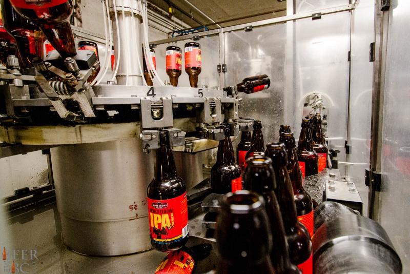 Howe Sound Bottling Line