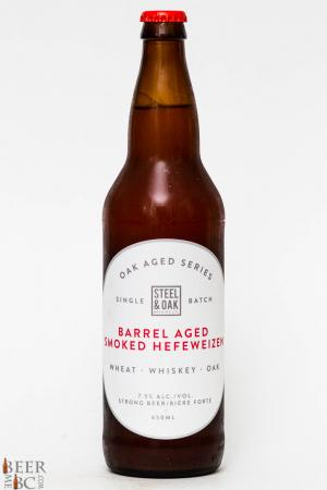 Steel & Oak Barrel Aged Smoked Hefeweizen Review