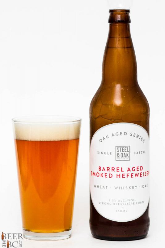 Steel & Oak Barrel Aged Smoked Hefeweizen Review