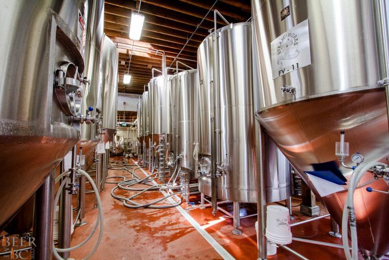 Steamworks Brewery Fermentors