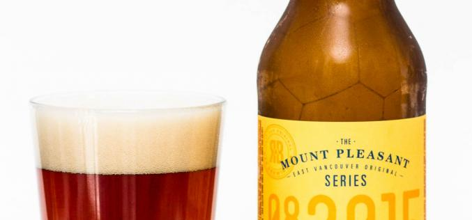 R&B Brewing Co – Mount Pleasant Roggenbier Rye Ale