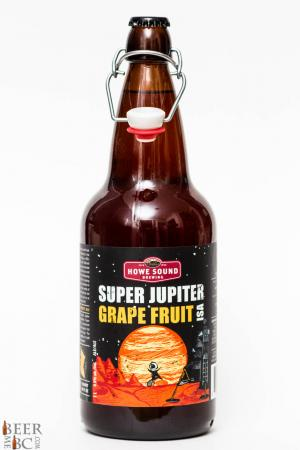 Howe Sound Brewing Super Jupiter Grape Fruit ISA Revew