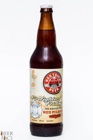 Red Truck Beer Firefighters' Friday Red Pilsner Review
