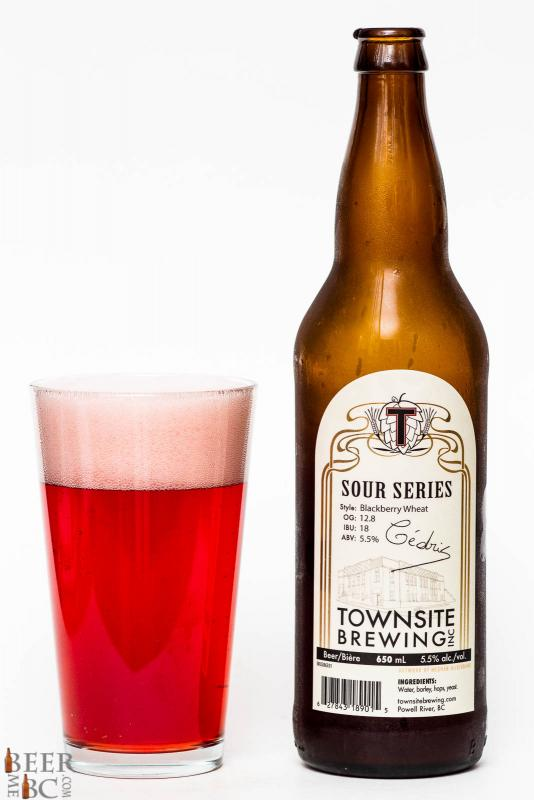 Townsite Brewing Sour Blackberry Ale Review