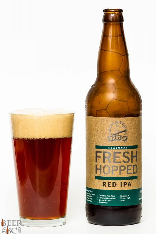 Bridge Brewing Co. - Fresh Hopped Red IPA Review