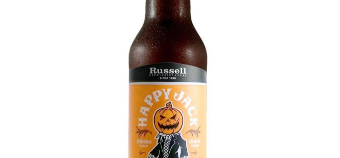 Russell Brewing Brings Back Happy Jack Pumpkin Ale for 2015