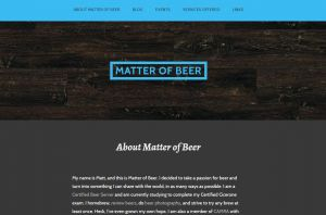 Matter of Beer Blog