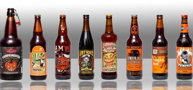 8 Of The First Released 2015 BC Pumpkin Beers – Available Now