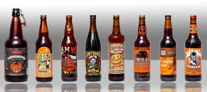 8 BC Pumpkin Ales
