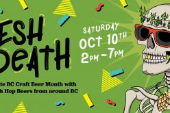 "Victoria's ""Fresh To Death"" Fresh Hop Beer Festival Takes Place Oct. 10th"