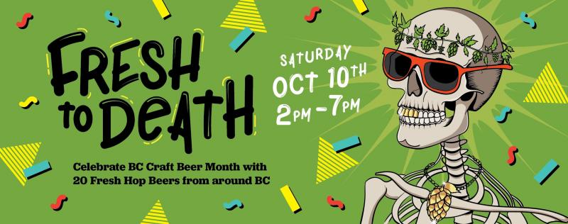 Victoria Fresh To Death Fresh Hop Beer Festival