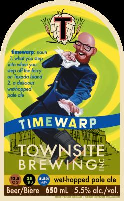 Townsite Timewarp Wet Hop Pale Ale