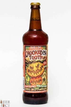2015 Phillips Crookeder Tooth Barrel Aged Pumpkin Ale Review
