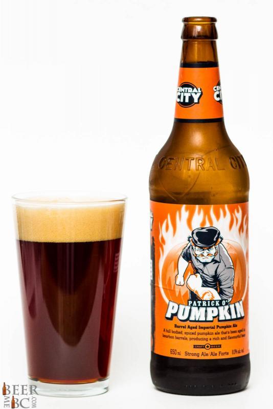 Central City Patrick O'Pumpkin Imperial Pumpkin Ale Review
