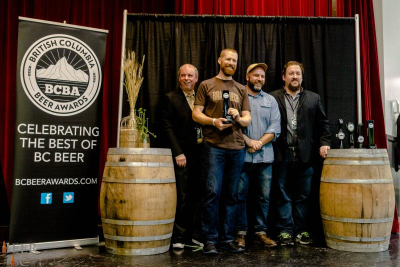Brassneck Brewery One Trick Pony 2015 BC Beer Awards Best In Show