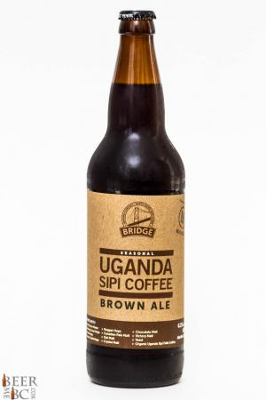 Bridge Brewing Uganda Sipi Coffee Brown Ale Review