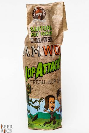 Steamworks Hop Attack Fresh Hop IPA Review