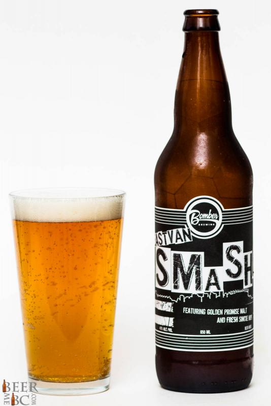 Bomber Brewing East Van Smash Resh Hop Pale Ale Review