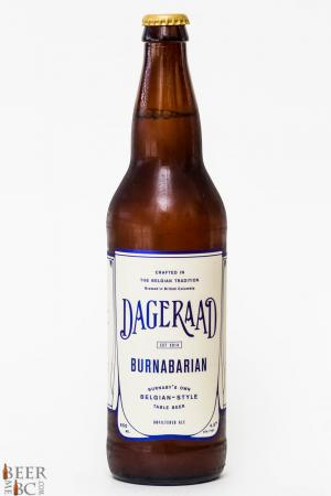 Dageraad Brewing Burnabairan Belgian Table Beer Review