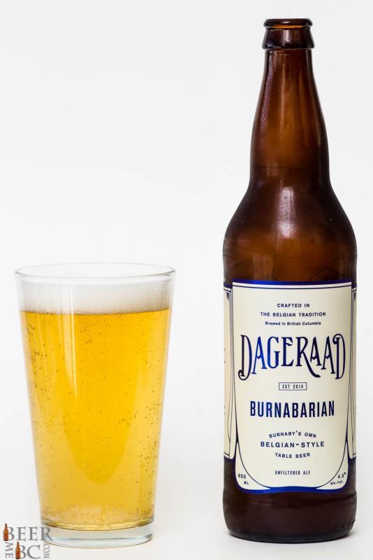 Dageraad Brewing Burnabairan Belgian Table Beer Review