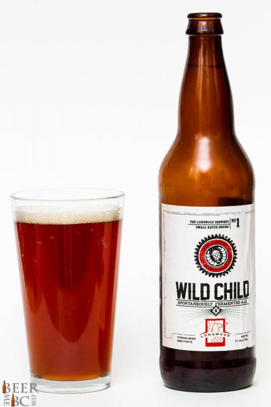 Longwood Brewery Wild Child Cherry Sour Ale Review