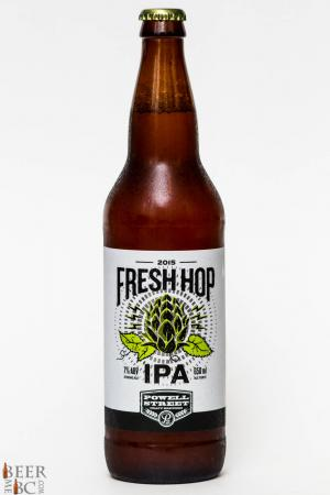 Powell Street Brewery 2015 Fresh Hop IPA Review