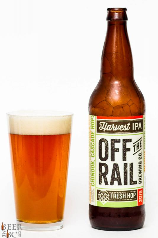 Off The Rail Fresh Hop Harvest IPA Review