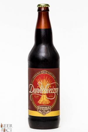 Powell Street Brewery Dunkelweizen Review
