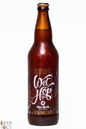 Big Rock Urban Brewery Centennial Wet Hop IPA Review