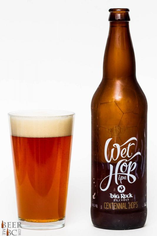 Big Rock Urban Brewery Centennial Wet Hop IPA Review