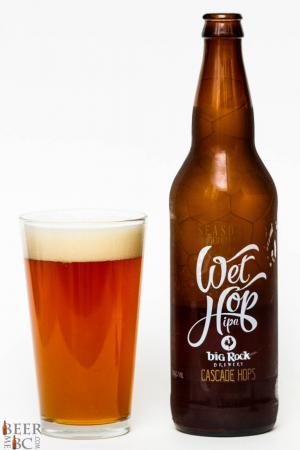 Big Rock Urban Brewery Cascade Wet Hop IPA Review