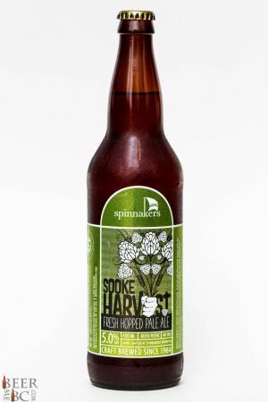 Spinnaker's Brewing Sook Harvest Fresh Hop Pale Ale Review