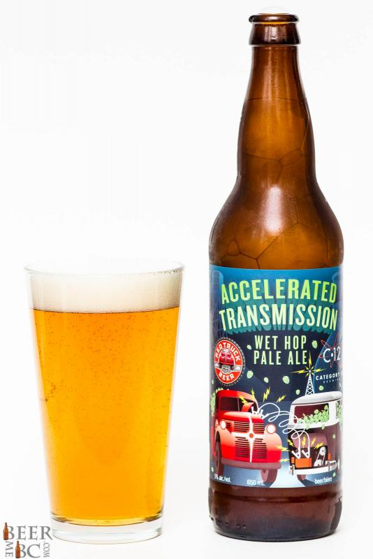 Red Truck & Category 12 Accelerated Transmission Wet Hop Pale Ale Review