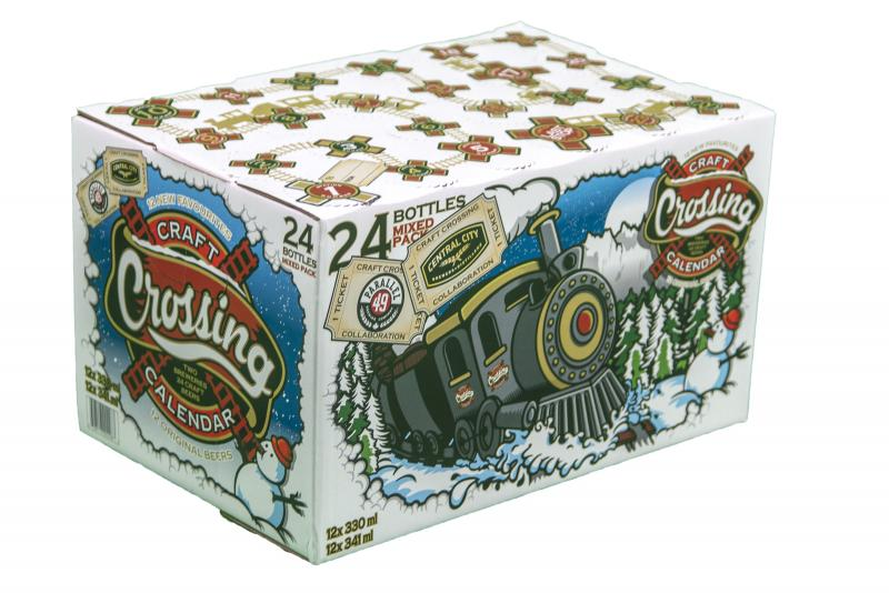 Central City & Parallel 49 2015 Craft Beer Calendar
