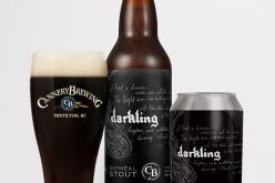 The Darkling Oatmeal Stout Released from Cannery Brewing