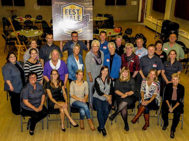 Fest of Ale Charity Disbursement 2015 Group photo