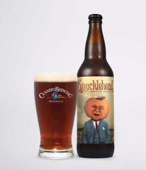 Knucklehead Bottle and Glass