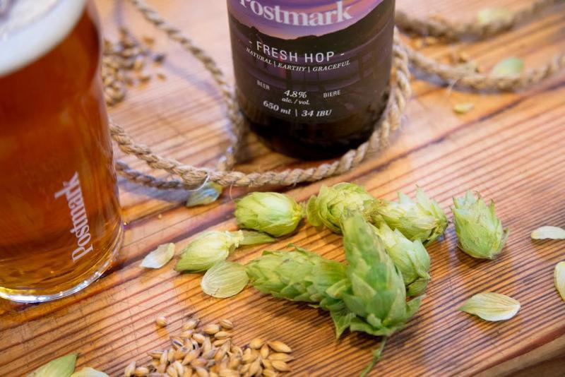 Postmark Fresh Hop Beer Release