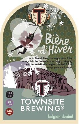 Townsite Brewing Biere D'Hiver Release