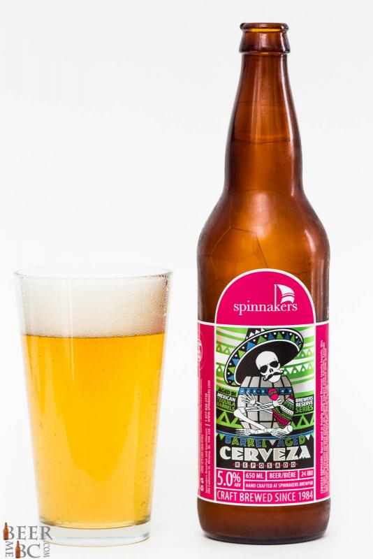 Spinnakers Cerveza Respersado Tequila Aged Ale Review