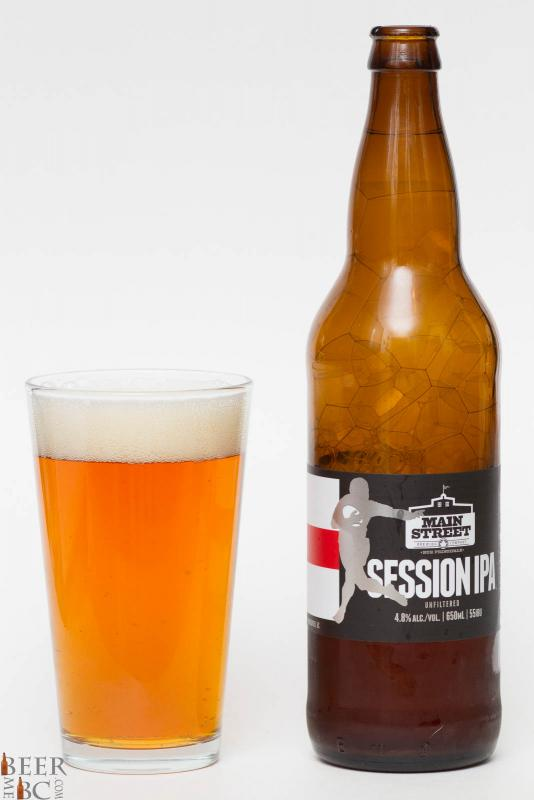 Main Street Brewing Session IPA Review