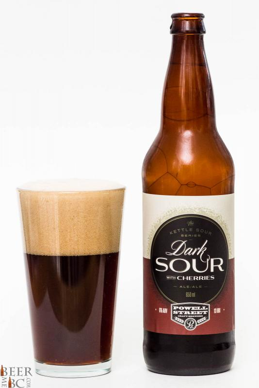 Powell Street Brewing Dark Sour