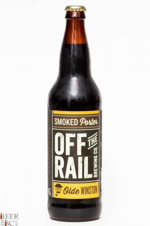 Off The Rail Smoked Porter Review