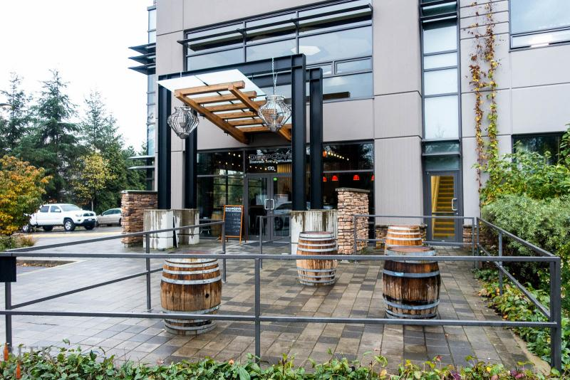 Deep Cove Brewery Outdoor Patio