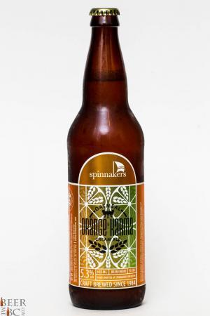 Spinnakers Orange Karma Cream Ale Review
