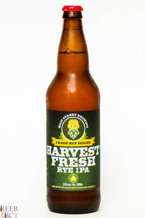 Main Street Brewing Harvest Fresh Rye IPA Review